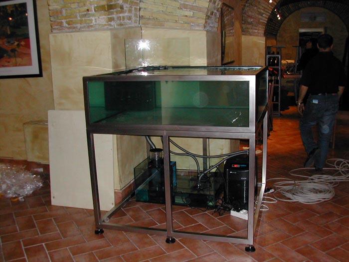 prezzi vasche artigianali per acquari fantail