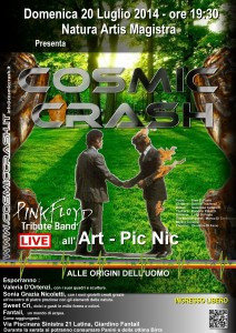 ART Pic-Nic con Cosmic Crash 20/07/2014